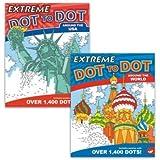 MindWare Extreme Dot to Dot: Destinations Set of 2