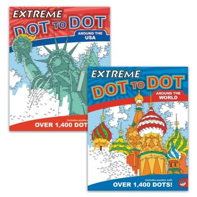 MindWare Extreme Dot to Dot: Destinations Set of 2