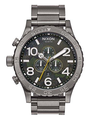 Nixon Men's A0832069 51-30 Chrono Analog Display Japanese Quartz Grey Watch