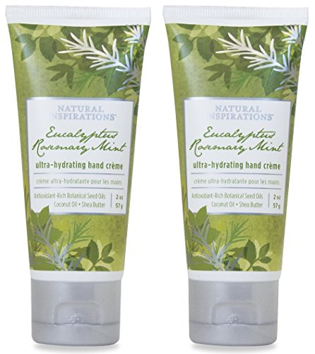 Natural Inspirations Ultra Hydrating Hand Creme 2 Piece Gift Set – Eucalyptus Rosemary Mint