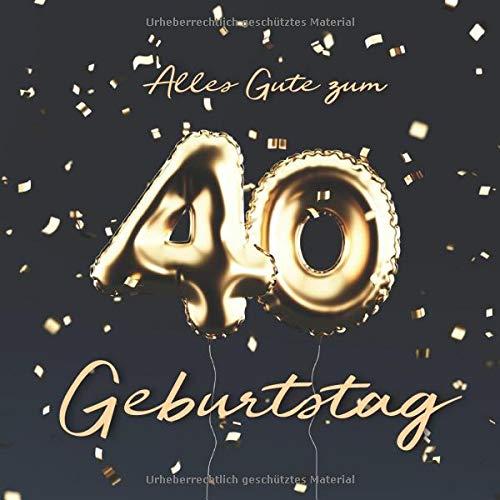 alles gute zum 40