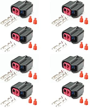 Painless Wiring 60131 EV6//USCAR Fuel Injector Connector Kit