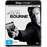 Jason Bourne 4K UHD Blu-ray | Directed by Paul Greengrass | NON-USA Format | Region B Import - Australia