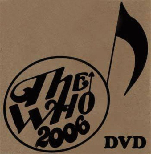 DVD : The Who - Live: Portland or 10 / 10 / 06 (Poster)