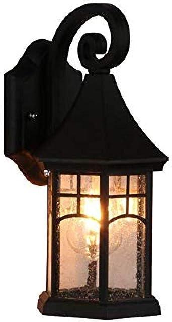 Lámpara de pared Lámpara de pared exterior resistente a la ...
