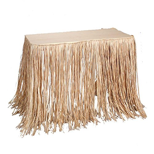 U.S. Toy HL89 Raffia Table Skirt -