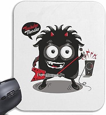 Mousepad alfombrilla de ratón MONSTER ROCKSTAR CON LA GUITARRA ...