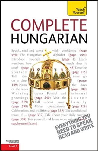 Book Complete Hungarian: A Teach Yourself Guide (TY: Language Guides)