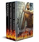 The Immortals - Books 4-6 (The Immortals Collection Book 2)