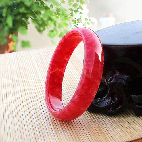 (Zhiming Chicken Blood Jade Bracelet Xiu Jade Red Bloodstone Bracelet Children's Money )