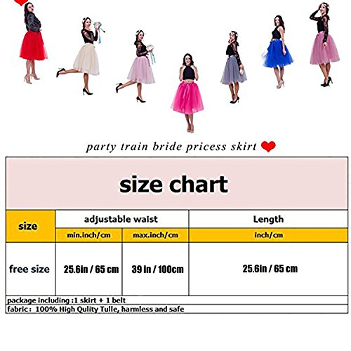 womens high waist princess a line midi knee length tutu