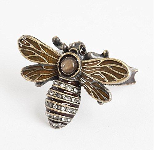 Jeweled Bumble Bee Napkin Rings. Set of 4. ()