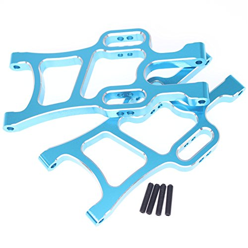 Hobbypark 108019 Aluminum Front Lower Arms (L/R) Blue For RC 1:10 Scale Redcat Volcano Epx (PRO) Exceed Infinitive Monster Truck 4WD Upgrade Parts