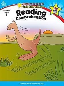 Reading Comprehension, Grade 1: Gold Star Edition (Home Workbooks)