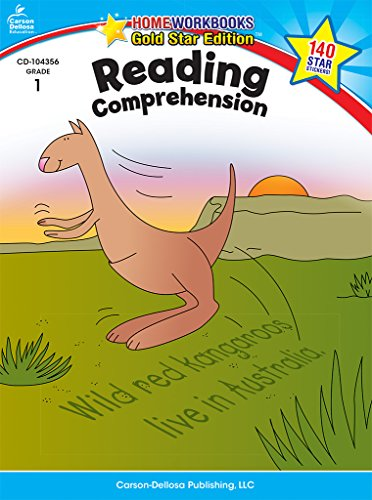 Reading Comprehension, Grade 1: Gold Star Edition (Home Workbooks) ()