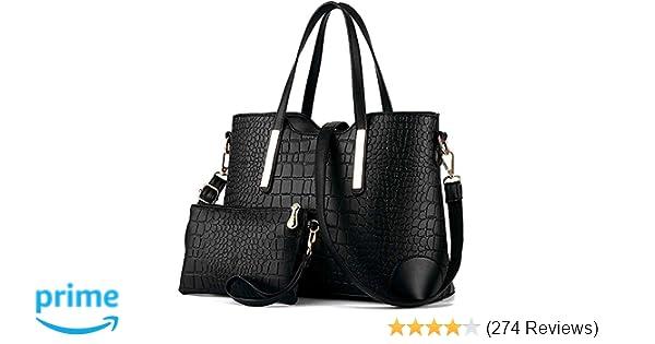 bd7230a50bb6 YNIQUE Satchel Purses and Handbags for Women Shoulder Tote Bags Wallets   Handbags  Amazon.com