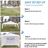 weepo Durable Waterproof Outdoor Tent with Spiral