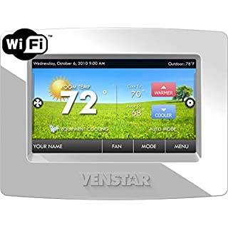 Venstar T7850 Colortouch 7 Day Programmable Thermostat with Built in Wifi - Works W/ Alexa by Venstar