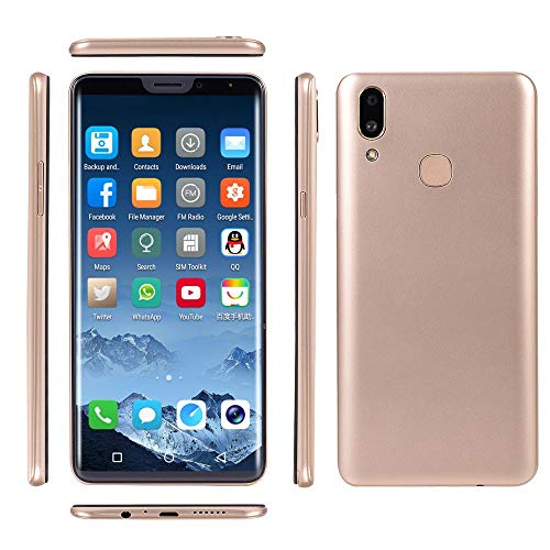 - Unlocked Cell Phone, Besde 6.1 inch 18:9 LCD Full Screen 8.0MP Dual HD Camera Smart Phone Android 7.0 Face ID Fingerprint Unlock 2GB+16GB WiFi Bluetooth GPS GSM/WCDMA 3G Dual SIM Card Mobile Phone
