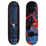 PlayWheels Ultimate Spider-Man 28'' Skateboard, Spider-Crawl