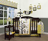 GEENNY Boutique Baby 13 Piece Nursery Crib Bedding Set, Monkey Go Happy Reviews