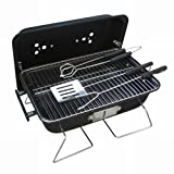 Ragalta USA RBQ-004 16 in. x 11 in. Portable Charcoal Grill For Sale