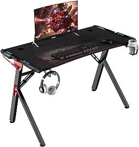 Escritorio simple Inicio moderna simple juego mesa de juego del hotel dedicado for juegos Tabla atletismo Juego de Mesa Tabla de anclaje utilizado en casa mesa de juego con luz RGB de