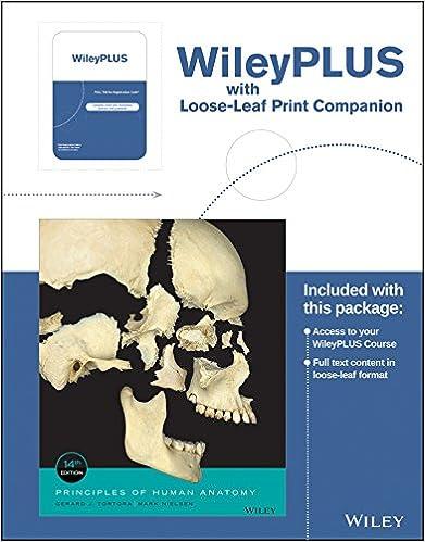 Amazon.com: Principles of Human Anatomy, 14th Edition WileyPLUS ...
