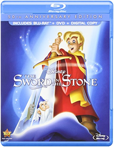 (The Sword in the Stone (50th Anniversary Edition) [Blu-ray])