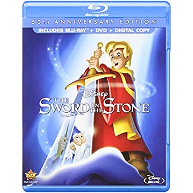 The Sword in the Stone (50th Anniversary Edition) [Blu-ray]