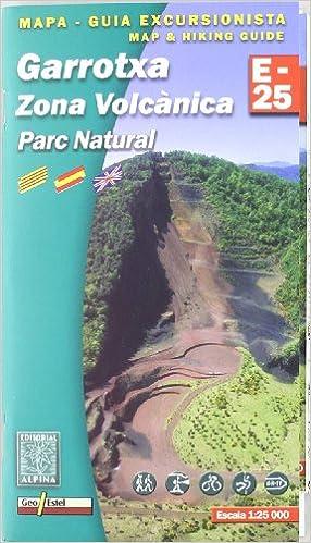 Mapa Garrotxa - zona volcánica 1:25000 (Mapa Y Guia