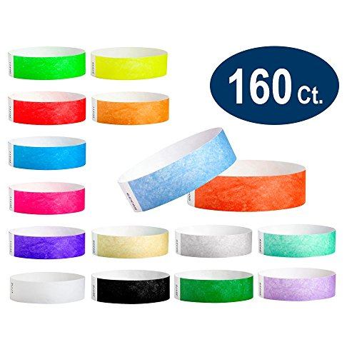 Neon Yellow Tyvek Wristbands (WristCo Ultimate Variety Pack 3/4