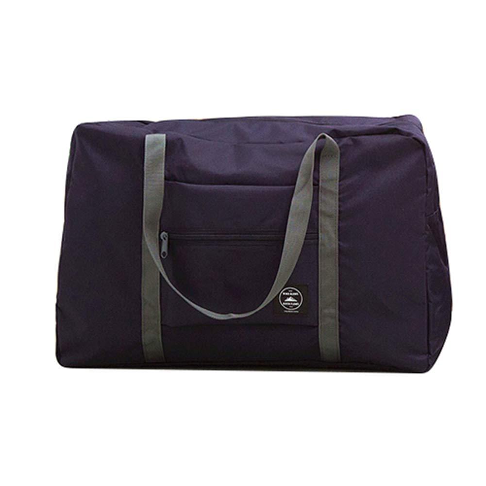 Wine Red Dds5391 Elegant Foldable Large Duffel Bag Luggage Storage Bag Waterproof Travel Pouch Tote Bag