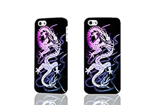 Chinese Dragon Photo Hard 3D Rough Case , Fashion Image Case Diy, Personalized Custom Durable 3d Case For iPhone 4 & iPhone 4S