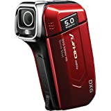 Dxg USA 5.0 Megapixel 1080P High-Definition Quickshots Digital Video Camera - Red DXG-5B9VR HD (Discontinued by Manufacturer)