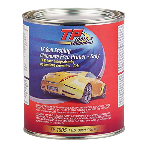 (TP Tools Self-Etch Primer (1K) - Light Gray, Quart TP-1005)