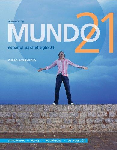 Bundle: Mundo 21, 4th + Premium Web Site Printed Access Card + Student Activities Manual