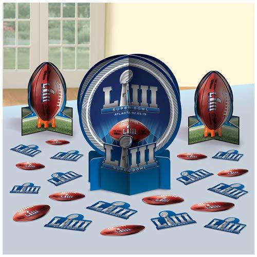 Amscan TBL Decor KIT Super Bowl LIII]()