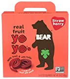 BEAR Real Fruit Yoyos, Strawberry, No added