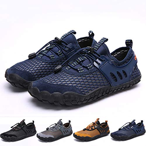 (Bridawn Men Women Quick Dry Barefoot Hiking Water Shoes for Swim Surf)