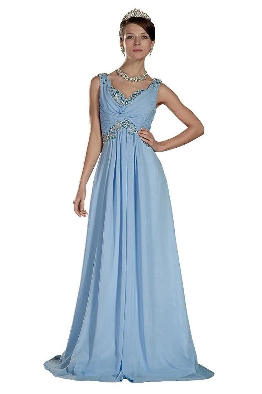 GEORGE BRIDE Slim Fit Beading Straps Charming Fashion Evening Dress