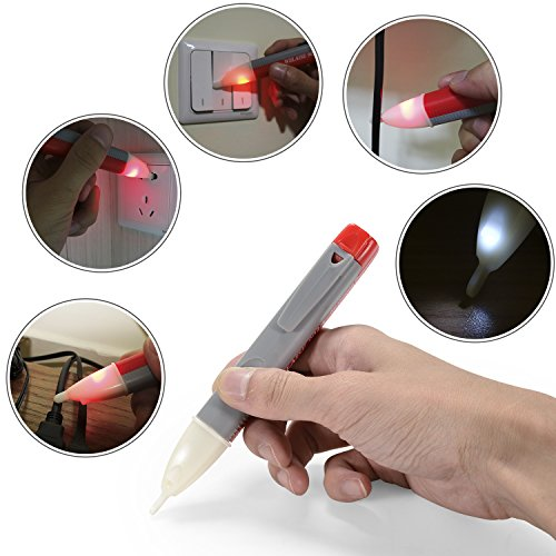 Voltage Tester WELAISE Alert Voltage Electric Detector With LED Light by WELAISE (Image #5)