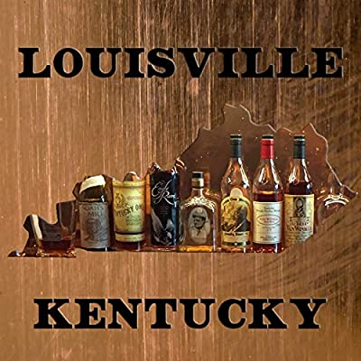 Louisville Kentucky Copper & Bourbon Coaster