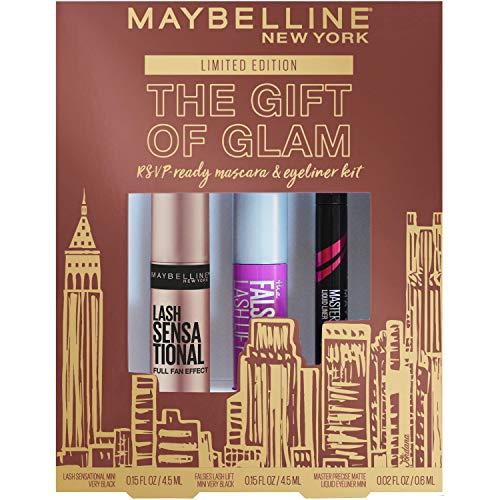 Maybelline The Gift Of Glam Mini Mascara and Eyeliner Makeup Gift Set