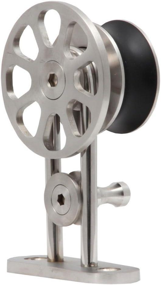 21525mm Track Single Door Kit KINMADE Fortune Stainless Steel Sliding Barn Door Hardware Kit 10FT