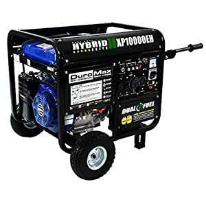 DuroMax 10000 Watt 18.0 HP Dual Fuel Hybrid Generator by Imperial Industrial Supply