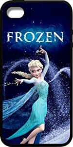 Disney Frozen iPhone 4 Case Cover - Disney Frozen iPhone 4s Hard Plastic Case Cover - Black