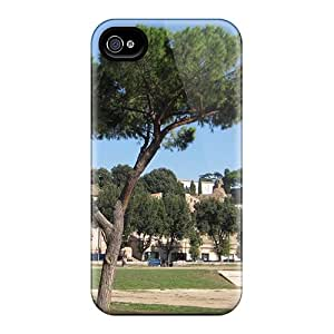Hot Tpye Park In Rome Case Cover For Iphone 4/4s