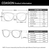 COASION Kids Clear Glasses for Little Girls