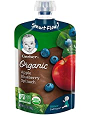 Gerber 2nd Foods Organic, Apple Blueberry Spinach MP 2